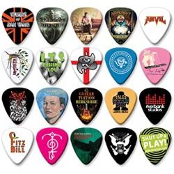 Púas de Guitarra...